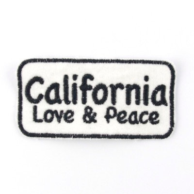 "ALM Message Patch ""California Love & Peace"""