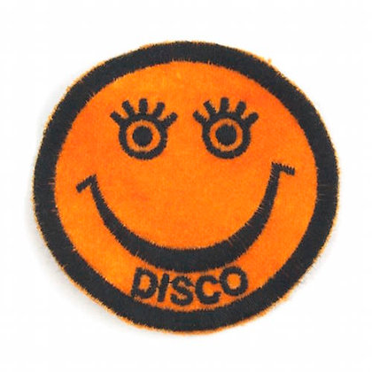 "No141 ALM Smile Patch Orange ""DISCO"""