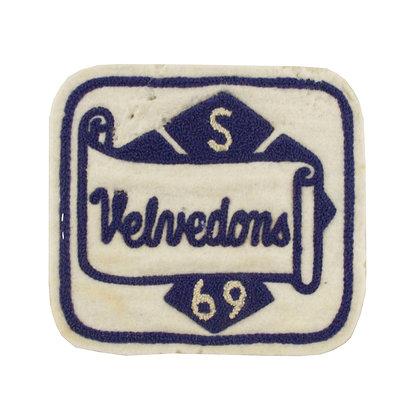1969 Vintage College Patch