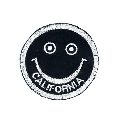 "No86 ALM Smile Patch ""CALIFORNIA"" Black"