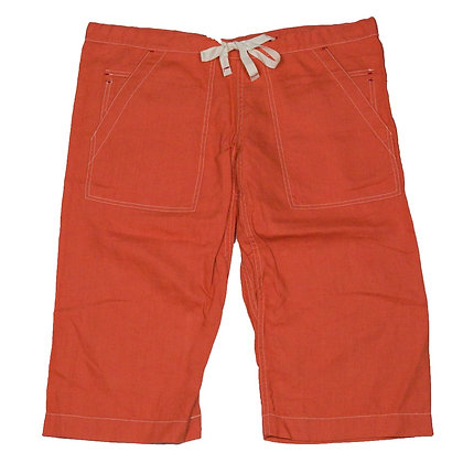 ALM Capoeira Shorts Linen Orange