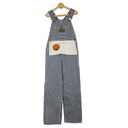 ALM Hickory Overall w/Patches