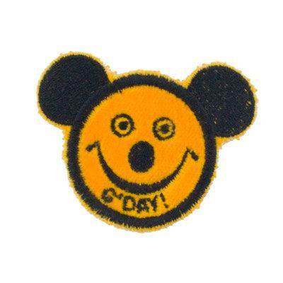 "No131 ALM Mini Smile Patch Koala ""G'DAY"" Yellow"