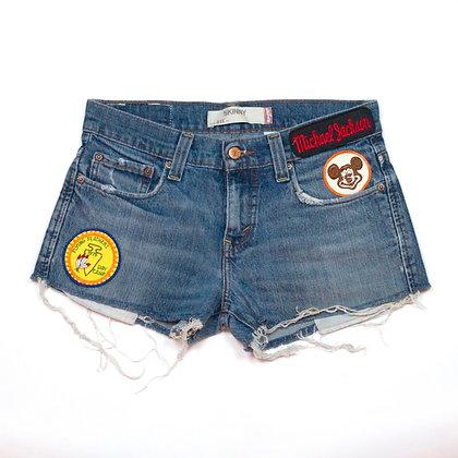 ALM Denim Shorts ③