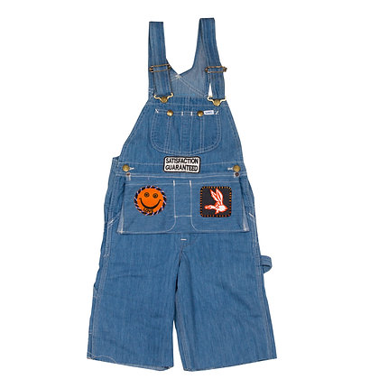 ALM Overall Shorts w/Patches
