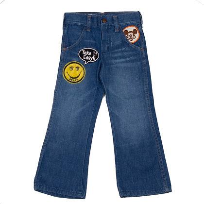 ALM Kid's Denim Pants w/Patches