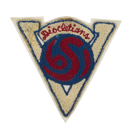 Vintage College Patch