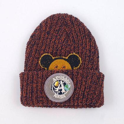 Kid's Upcycled Yarn Watch Cap ④