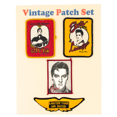 "MOMO Vintage Patch Set ""ELVIS PRESLEY"""