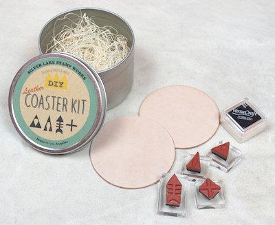 Slver Lake Stamp Works DIY Coaster Kit A