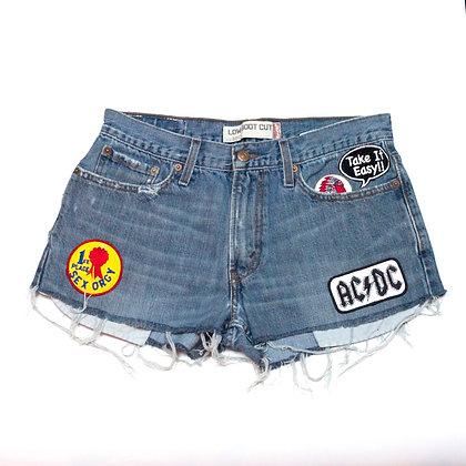 ALM Denim Shorts ⑨