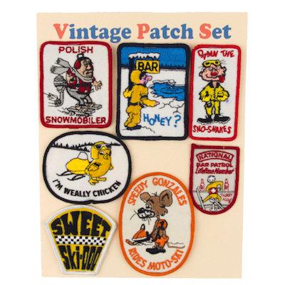 "MOMO Vintage Patch Set ""POLISH SNOWMOBILER"""