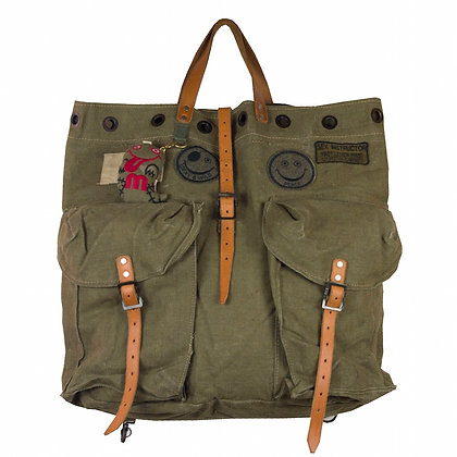 MOMO Original Recycle Military Tote Bag