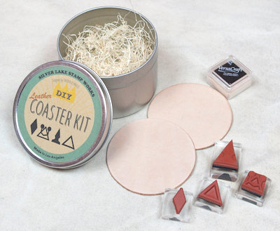 Slver Lake Stamp Works DIY Coaster Kit D
