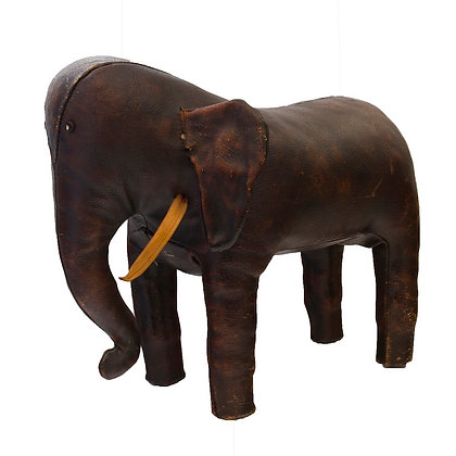 Vintage Abercrombie & Fitch Omersa Elephant Ottoma