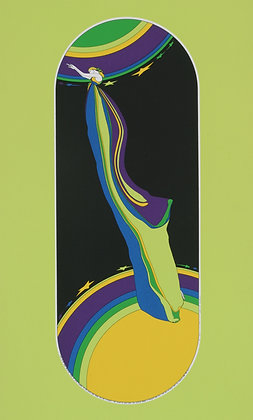 No31, REACHING FOR THE STAR  Silk Screen  (1974)