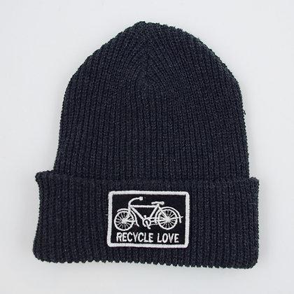 Upcycled Yarn Watch Cap ⑬