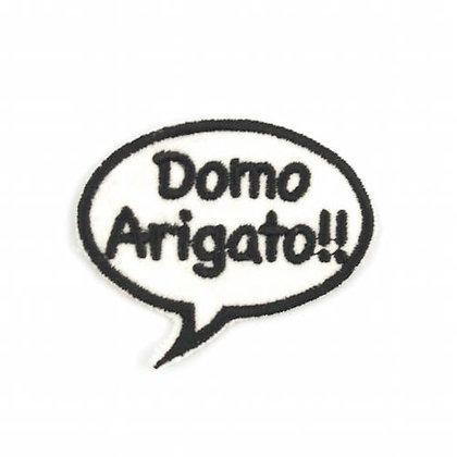 """No155 ALM Bubble Patch """"Domo Arigato!!"""""""