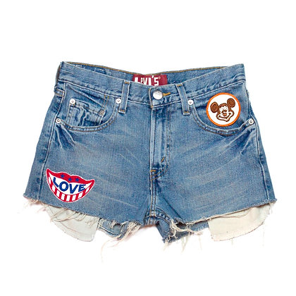ALM Denim Shorts ④