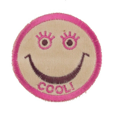 "No6 ALM Smile Patch Beige ""COOL!"""