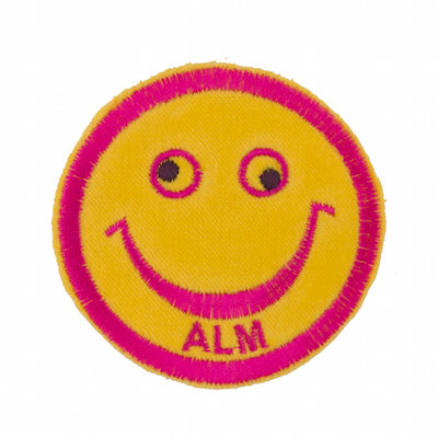 """No25 ALM Smile Patch Yellow """"ALM"""""""