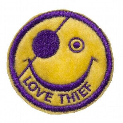 "No120  ALM Smile Patch ""Love Theif"""