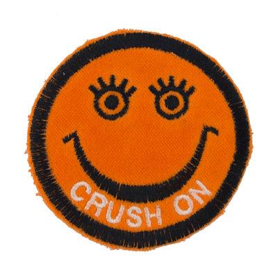 "No17 ALM Smile Patch Orange ""CRUSH ON"""