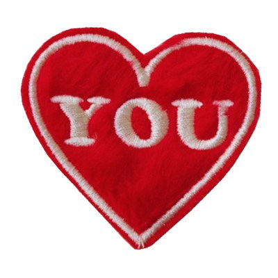 "ALM Valentine  Patch ""YOU"""