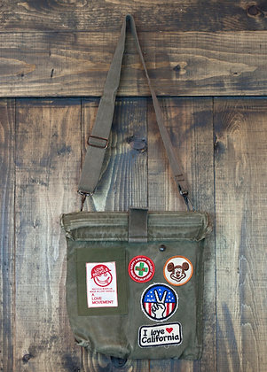 ALM Recycled Military Cross Body Bag A