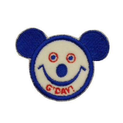 """ALM Mini Smile Patch Koala """"G'DAY"""" Blue"""