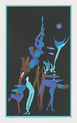 No52, Dance Group Silk Screen (1976)