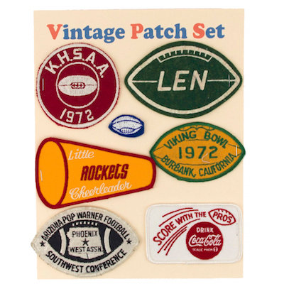 "MOMO Vintage Patch Set ""AMERICAN FOOTBALL"""