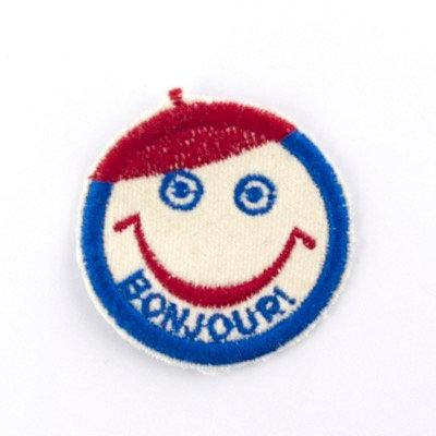 """ALM Mini Smile Patch """"BONJOUR!"""""""