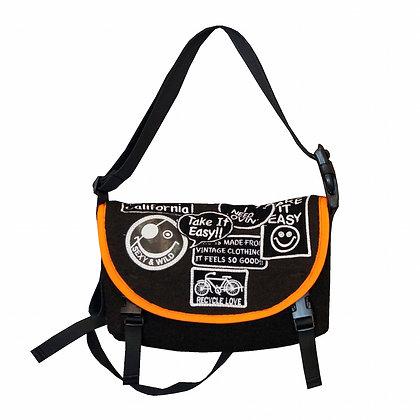 ALM Recycle Blanket Mini Messenger Bag
