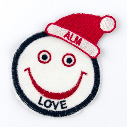 No107 ALM Santa Claus Hat Patch