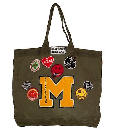MOMO Original Recycle Military Tote Bag