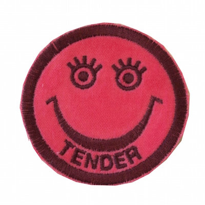 "No29 ALM Smile Patch Pink ""TENDER"""