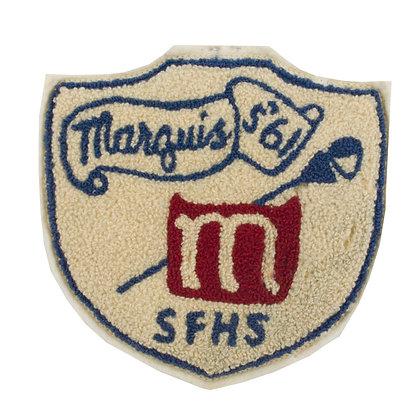 "1961 Vintage College Patch ""SFHS"""
