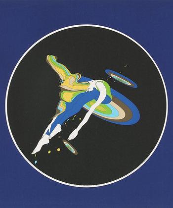 No18, FLYING SAUCER Silk Screen (1974)