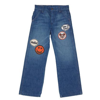 ALM Kids Denim Pants w/Patches