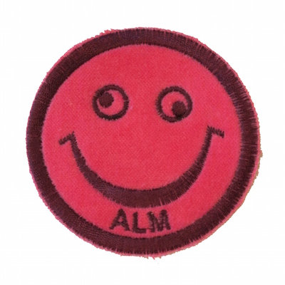 "No30 ALM Smile Patch Pink ""ALM"""