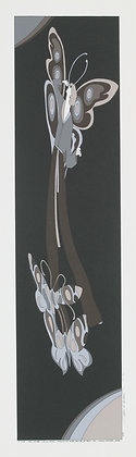 No45, BUTTERFLY GIRL Silk Screen (1975)