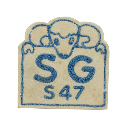 1947 Vintage College Patch
