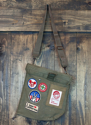 ALM Recycled Military Cross Body Bag C