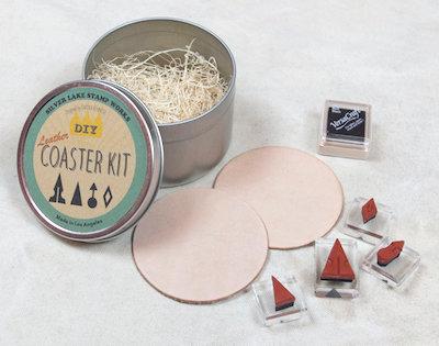 Slver Lake Stamp Works DIY Coaster Kit C