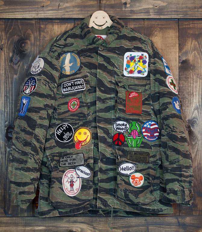 Recycled Hunting Jackets