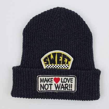 Upcycled Yarn Watch Cap ⑫