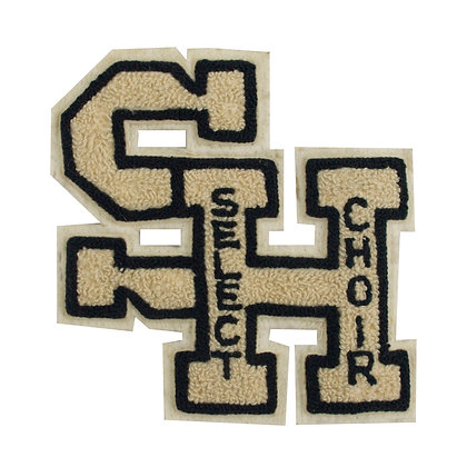 "Vintage College Patch ""SELECT CHOIR"""