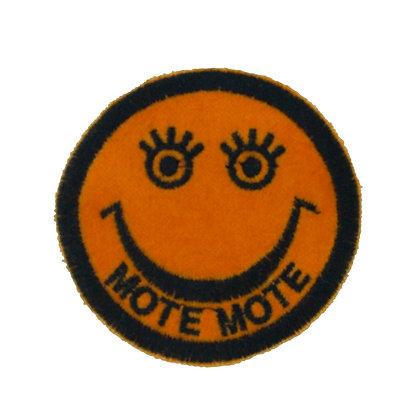 No90 ALM Smile Patch Orange