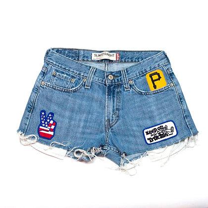 ALM Denim Shorts ⑦